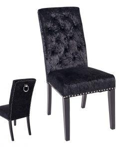 Cadeira Tecido Preto (M2)