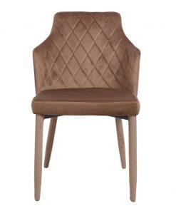 Cadeira Tecido Castanho (M4)
